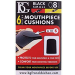 A10S CL Mouthpiece Cushions Black Small 0.8mm, Pack of 6