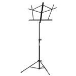 MS1000 Folding Music Stand Black w/Bag
