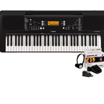 PSRE363KIT Portable, 61 Note, Touch sensitive, 48 Note Polyphony, 574 Voices, 165 styles, uses Survival Kit SKB2