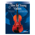 Solos for Young Violists Volume 1 viola part with piano accompaniment part
