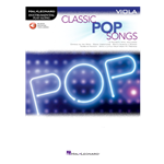 Classic Pop Songs  for Viola with online audio access code