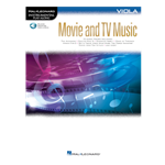 Movie and TV Music for Viola wth online audio access code