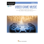 Video Game Music for Viola with online audio access code