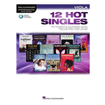 12 Hot Singlesfor Viola with online audio access code