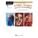 Songs from Frozen, Tangled and Enchanted for Violin with online access code
