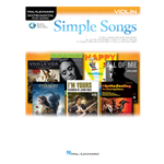 Simple Songs for Violin with online audio access code